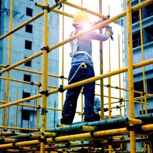 حوادث برای کارگران داربست فلزی